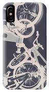 Stunt Bike Trickery IPhone Case