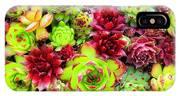 Succulent Garden IPhone X Case