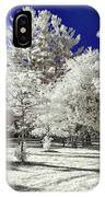 Summer Park In Infrared IPhone Case
