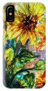Sunflowers Summer Flowers Mixed Media IPhone X Case