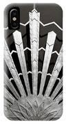 Sunrays Sunburst Art Feature IPhone Case