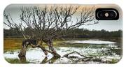 Swamp And Dead Tree IPhone Case