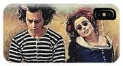 Sweeney Todd And Mrs. Lovett IPhone Case