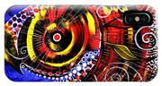 Swollen Red Cavity Fish IPhone Case