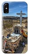 Terlingua Grave IPhone X Case