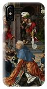 The Adoration Of The Magi With Donor  IPhone X Case