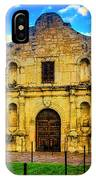 The Alamo Mission IPhone Case