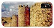 The Ancient City Of, Avila, Spain - Medieval City Walls IPhone Case