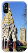 The Buxton Memorial Fountain London IPhone Case