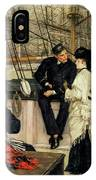 The Captain And The Mate, 1873 IPhone X Case