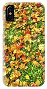 The Golden Grove.  IPhone Case