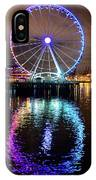 The Great Wheel IPhone Case