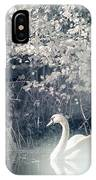 The Lone Swan 2 IPhone Case by Brian Hale
