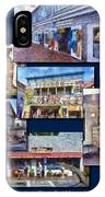 The Shops Of Provincetown Cape Cod Massachusetts Collage Pa IPhone Case
