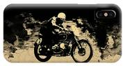 The Vintage Motorcycle Racer IPhone Case