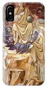 The Vision Of Saint Catherine IPhone Case
