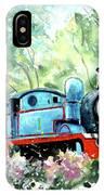 Thomas The Tank Engine In Buckfastleigh IPhone Case