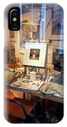 Through An Artists Window IPhone Case