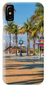 Times Square In Fort Myers Beach Florida IPhone Case