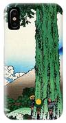 Top Quality Art - Mt,fuji36view-koshu Mishimagoe IPhone Case