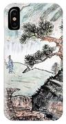 Traditional Chinese Painting , Landscape IPhone X Case