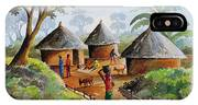 Traditional Village IPhone Case
