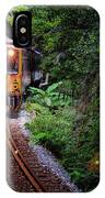Train With Tunnel Of Pingxi Line, Taiwan IPhone Case