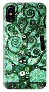 Tree Of Life Abstract Expressionism IPhone Case
