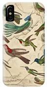 Trochilus - Hummingbirds IPhone Case