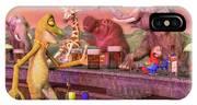 Tropical Paradise Sunset Bar IPhone X Case