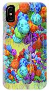 Tropical Print Balloons IPhone X Case