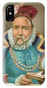 Tycho Brahe Illustration IPhone X Case