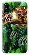 Underwater Mardi Gras IPhone Case