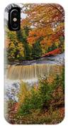 Upper Tahquamenon Autumn Colors -0007 IPhone Case