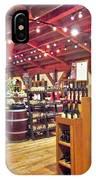 V Sattui Winery 3 IPhone Case