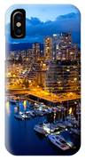 Vancouver Night View IPhone X Case