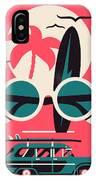 Vector Modern Flat Wall Art Poster IPhone X Case