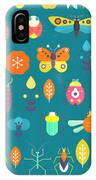 Vector Seamless Geometric Pattern With IPhone X Case