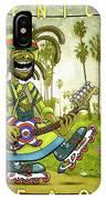 Venice Beach Rasta Roller IPhone X Case