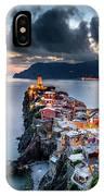Vernazza Cityscape IPhone Case