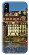 View Of Porto And Douro River IPhone Case