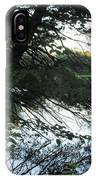 View Of The Lake Through The Branches IPhone Case
