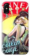 Vintage Poster - Burlesque Movie IPhone Case