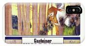 Vintage Poster - Gasteiner Waldduft IPhone Case