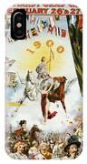 Vintage Poster - Mobile Mardi Gras IPhone Case