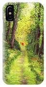 Walking Meditation IPhone Case