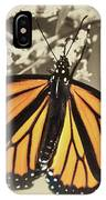 Wandering Migrant Butterfly IPhone Case