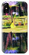 Water Lily 12 IPhone Case