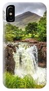 Waterfall Under The Mountain IPhone Case