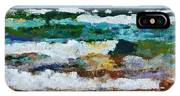 Waves Crash - Painting Version IPhone X Case